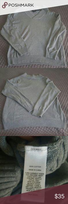 MENS Express cotton sweater MENS Express cotton sweater Express Sweaters V-Neck