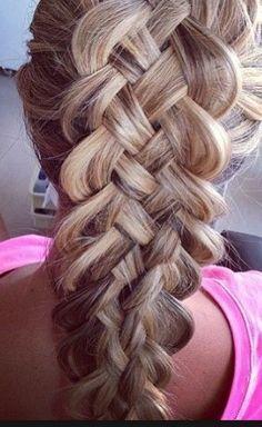 Diffrent Easy Braids #Fashion #Beauty #Trusper #Tip