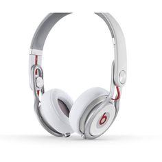 Monster Beats By Dr Dre Mixr Headphones White - Monster 025