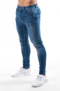 a45c102b68ffe Gym King Skinny Jeans - Medium Wash