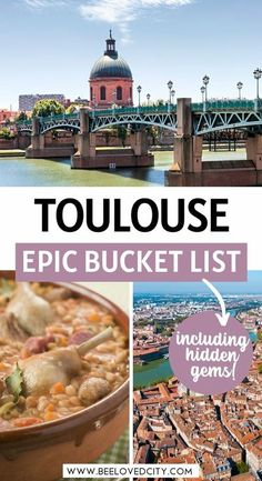 Discover the most epic bucket list for Toulouse France! Everything you need to know about Toulouse and the best things to do in South of France are here!  Toulouse travel | Toulouse France things to do | Toulouse france travel | Toulouse living in | Toulouse photography | Toulouse france what to do in | Toulouse France photography | Toulouse France hidden gems | Toulouse france by a local | Toulouse France bucket list | South of France travel