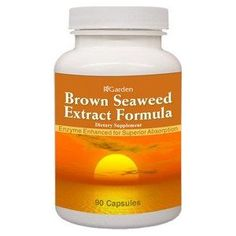 Dr Oz Brown Seaweed, Belly Fat, Supplement, Fucoxanthin