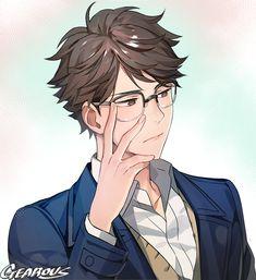 Anime One-shots // german // - // Oikawa x reader // part 2 //[Haikyuu] - I think the title says it all ? If there are wishes, then please in the Komm - Anime Naruto, Manga Anime, Fanarts Anime, Anime Characters, Anime Nerd, Manga Boy, Oikawa X Iwaizumi, Kageyama, Iwaoi