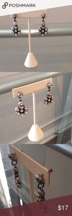 Small silver drop earrings Very cute silver dropped earrings Jewelry Earrings