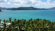 Beautiful Hamilton Island. This was the view from our room , beautiful beaches , plenty of day trips such as the Whitsundays and snorkeling the great barrier reef.  Friendly environment and perfect weather.