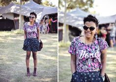 ELLE Style Reporter Niquita Bento went snap crazy at last weekend's Rocking the Daisies, bringing you. Daisies, Festival Fashion, Street Style, Rock, Bento, Blouse, Blackberry, Women, Margaritas