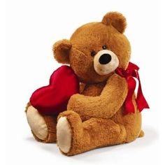 "Honey Love 26"" Valentine's Day Plush Stuffed Animal Teddy Bear Gift by Russ"