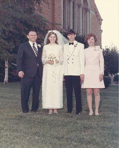 wedding day, 1969