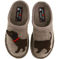 Cozy home slippers-- Haflinger Doggy Slipper