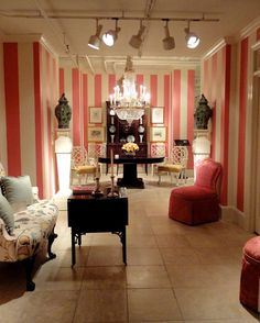 My Kimora Lee-style dream closet will have this wallpaper.