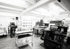 letterpress studio envy!    Bespoke Letterpress - Couture Wedding Letterpress Invitations Stationery & beautiful paperie
