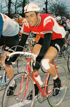 Patrick Sercu Sports Stars, Road Racing, Biker, Vintage, Steel, Road Bike, Veil, Bicycles, Cycling