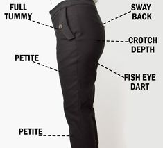 When I made the cigarette trousers I decided to document the extensive fitting process to the best of my abilities. Of course these are methods that works for me, and your mileage might vary as we all have unique bodies. But hopefully you can take something useful from my process and incorporate it for your own pants fitting. My starting point I used the Burdastyle 04-2016-117 slim fitting trouser pattern. The Burda size 38 is quite close to my own body lower body measurements (apart from me…