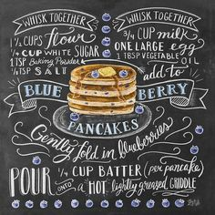 Who want some blue berry pancakes?  . From a beautiful type work by @valeriemckeehan __ Featured by @thedailytype #thedailytype Learning stuffs via: www.learntype.today __ by thedailytype