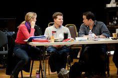 Caroline Shaffer, Bill Rauch and Nelson Eusebio III.  The Oregon Shakespeare Festival. 2012. Medea/Macbeth/Cinderella rehearsal. Photo: Jenny Graham.