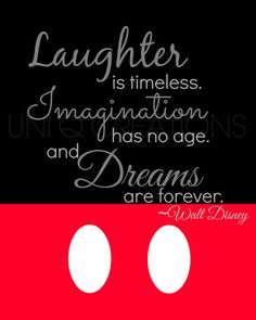 Walt Disney Quote Print Digital Art Wall Art 8x10 by UniQCreations
