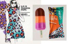 Lara Atkinson's Fashion Pop Concept Makes Couture Edible #popsicles #summer trendhunter.com