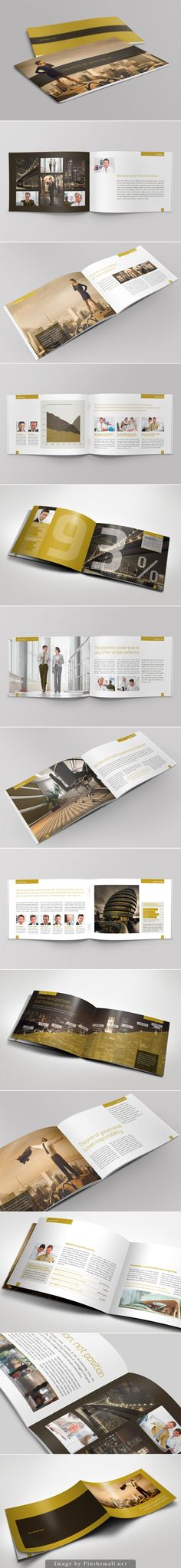Exclusive Horizontal Brochure by The Mikinger
