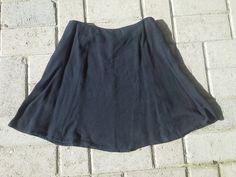 Express Vintage Black Mini Skirt XS by suzi00 on Etsy