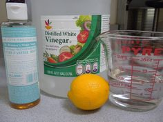 home made dish detergent