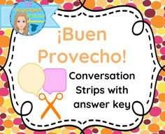 Spanish Restaurant Conversation Strips: Expresate 2 Chapter 7 Buen Provecho!Spanish reading comprehension, Spanish restaurant vocabularyA conversation grouped into 15 sentences for students to organize in the correct order. Covers the following topics:*ordering in a restaurant*commenting on food*making food recommendations*asking for the bill*using object pronounsStudents can work individually or in groups to cut out conversation strips and arrange them in a logical order**To save class…