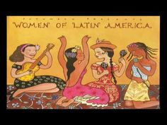Women Of Latin America CD from Putumayo, available to order from Four Dogs Music. Women Of Latin America features music by many of Latin America's greatest female artists. Latin Music, Dance Music, World Music, Latin Women, Woman Illustration, Music Images, Music Mix, Naive Art, Cd Cover