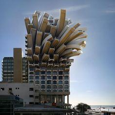 architectuur Medusa Tel Aviv 2011