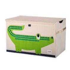 grote speelgoedbox krokodil