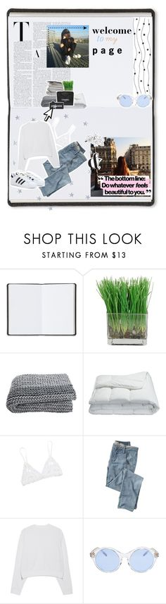 """""""'01- welcome to my page!"""" by everythings-rosy ❤ liked on Polyvore featuring Harrods, Frette, Chanel, Pointer, The Wild Unknown, Hanky Panky, Wrap, Acne Studios, Sunettes and adidas"""