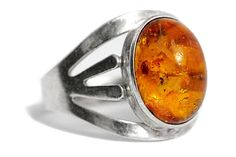 Antique Amber Ring Silver Art Deco by Tezsahcom https://www.etsy.com/listing/481824843/antique-amber-ring-silver-art-deco?ref=rss
