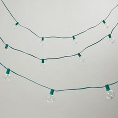 One of my favorite discoveries at WorldMarket.com: Clear Bulb String Lights
