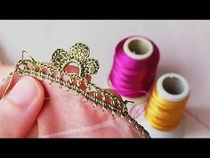 Making crochet lace in the dowry - lace things Saree Kuchu Designs, Applique Letters, Food Art For Kids, Knit Shoes, Lace Making, Crochet Videos, Knitted Shawls, Lace Design, Knitting Socks