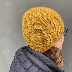 strickanleitung muetze kim icord krausrechts I Cord, Knitted Hats, Winter Hats, Inspiration, Knitting, Fashion, Biblical Inspiration, Moda, Tricot