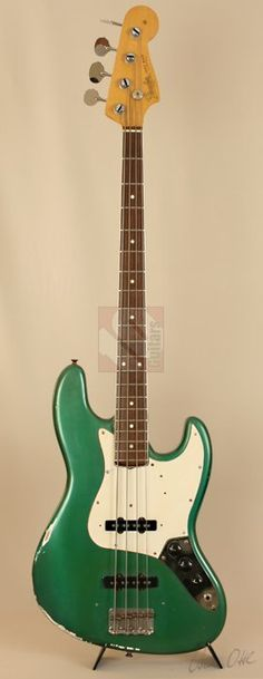 Fender Jazz Bass Sherwood Green (1966)