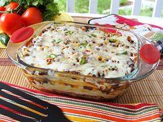 Tortilla casserole for meatless Monday