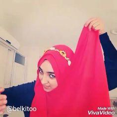 Instagram photo by SAL VE ESARP BAGLAMA STİLLERİ (@esarp_salbaglama) 15/06/2016 @belkitoo adli takipcimize teşekkür ederiz bu videosu icin 😊💕