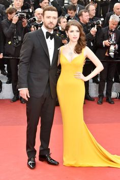Anna Kendrick and Justin Timberlake at Cannes