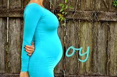 Boy maternity photo using your belly for the B