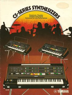 Retro Synth Ads: cs-80