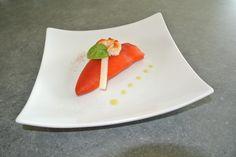 Recette - Poivrons farcis aux crevettes et pointes d'asperges | Notée 4/5