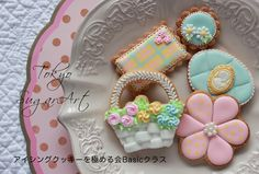icing cookie basic class