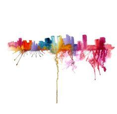 Elena Romanova's colourful world
