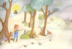 Florence Fox Goes To School by Ben Whittacker-Cook Illustration by Leanne Barrett