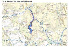 Mapa širší silniční sítě v zájmové lokalitě-Foto: Povodí Labe