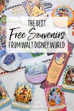 The BEST Free Souvenirs from Walt Disney World A trip to Walt Disney World is expensive, but there are magical touches that make the whole trip worth it! Find the Best Free Souvenirs from Walt Disney Voyage Disney World, Viaje A Disney World, Walt Disney World Orlando, Disney World Secrets, Disney World Florida, Disney World Tips And Tricks, Disney World Trip, Disney Parks, Disney Worlds