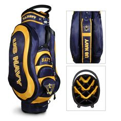 Team Golf University of Illinois Medalist Cart Golf Bag - Golf Equipment, Collegiate Golf Products at Academy Sports Golf Stand Bags, Illinois Fighting Illini, Golf Accessories, Sports Photos, Golf Carts, Us Navy, Team Logo, Military, University