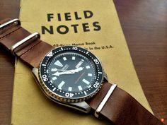 Seiko SKX007 Diver watch