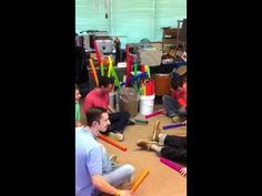 Call Me Maybe on boomwhackers