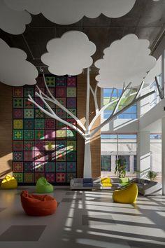 Школа будущего. Общественный интерьер от студии Dream Design – Журнал – His.ua