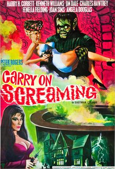 Carry On Screaming film poster (1966)
